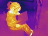 Thermogram - Child Reading Book
