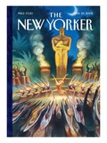 The New Yorker Cover - March 25  2002