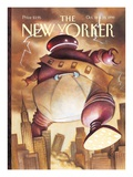 The New Yorker Cover - October 18  1999