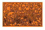 Crack is Wack Giclée par Keith Haring