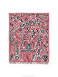 Fun Gallery Exhibition, 1983 Giclée par Keith Haring