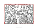 The Marriage of Heaven and Hell, 1984 Giclée par Keith Haring