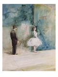 The Dancer  1890 (W/C on Paper)