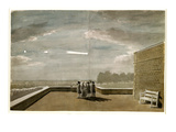 The Meteor of August 18  1783  as Seen from the East Angle of the North Terrace  Windsor Castle