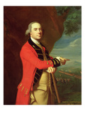 Portrait of General Thomas Gage  C1768 (Oil on Canvas Mounted on Masonite)