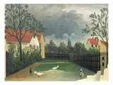 The Farm Yard  1896-98 (Oil on Canvas)