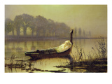 The Lady of Shalott&#39;  C1875 (Oil on Canvas)