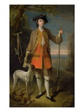 Sir Edward Hales  1744 (Oil on Canvas)