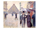 Sketch for 'Paris Street; Rainy Day'  1877