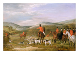 The Berkeley Hunt  1842: the Meet (Oil on Canvas)