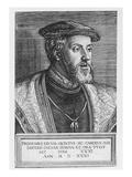 Emperor Charles V  1531 (Engraving)