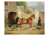 Gentlemen's Carriages: a Cabriolet  C1820-30 (Oil on Canvas)