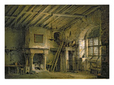 The Tolbooth  Stage Design for 'The Heart of Midlothian'  c1819