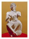 The Singer  Ur-Nina  2800-2300 BC (Alabaster)