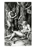 Satyr Family  1505 (Engraving)
