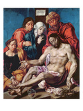 Lamentation  C1540-45 (Oil on Oak Panel)