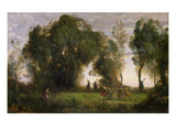 The Dance of the Nymphs (Oil on Canvas)