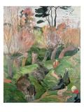 Breton Landscape  1889