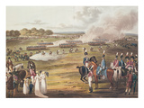 View of the London Volunteer Cavalry and Flying Artillery  1805 (Colour Litho)