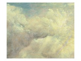 Cloud Study  C1821 (Oil on Canvas)
