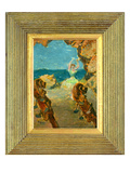 The Ballet Dancer  1891 (Oil on Mahogany Panel) (See 141384)