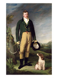 An Unknown Man with His Dog  1815