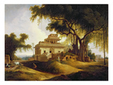 Ruins of the Naurattan  Sasaram  Bihar  1811 (Oil on Canvas)