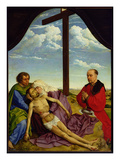 Pieta  1450 (Oil on Panel)
