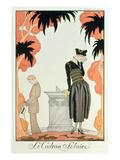 Falbalas Et Fanfreluches  Almanach Des Modes  Fashions for 1921 (Pochoir Print)