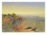 The Ganges  1863 (W/C on Paper)