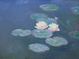 Waterlilies  Evening (Oil on Canvas) (See Detail 382333)