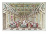 Feast Given at the Chateau De Versailles in Celebration of the Peace at End of Seven Years War