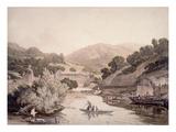 River Scene in Devonshire