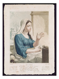 Nivose (December/January)  Fourth Month of the Republican Calendar  Engraved by Tresca  C1794