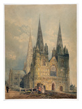 Lichfield Cathedral  Staffordshire  1794 (W/C over Graphite on Wove Paper)