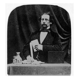 Charles Dickens (B/W Photo)