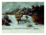 Winter Landscape with the Dents Du Midi  1876