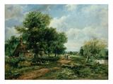 River Landscape  19th Century