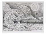 The Circle of the Lustful&#39;  Illustrations of Dante&#39;s Divine Comedy  1827 (Engraving on India Paper)