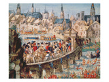 The Royal Entry Festival of Henri II (1519-59) into Rouen  1st October 1550