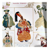 The Great Eunuch  Costume Design for Diaghilev's Production of the Ballet 'scheherazade'  1910
