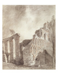 Ruin of St Botolph's Priory  Colchester  C1809 (Chalk and Pencil on Paper)