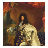 Louis XIV in Royal Costume  1701 (Detail)