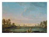 Place Louis Xv  C1779 (Oil on Canvas)