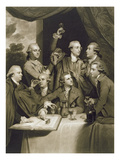 The Dilettanti Society  Engraved by William Say  1812 (Mezzotint on Paper)