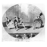 A Scene from the Ballet 'Jason Et Medee'  1781 (Engraving)