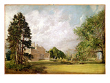 Malvern Hall  Warwickshire  C1820-21 (Oil on Canvas)