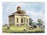 Observatory  Richmond Gardens  Plate 14
