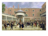 Epsom Races: Settling Day at Tattersall&#39;s (Oil on Canvas)