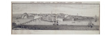 The South View of Berwick Upon Tweed  C1743-45 (Pen and Ink and Wash on Paper)